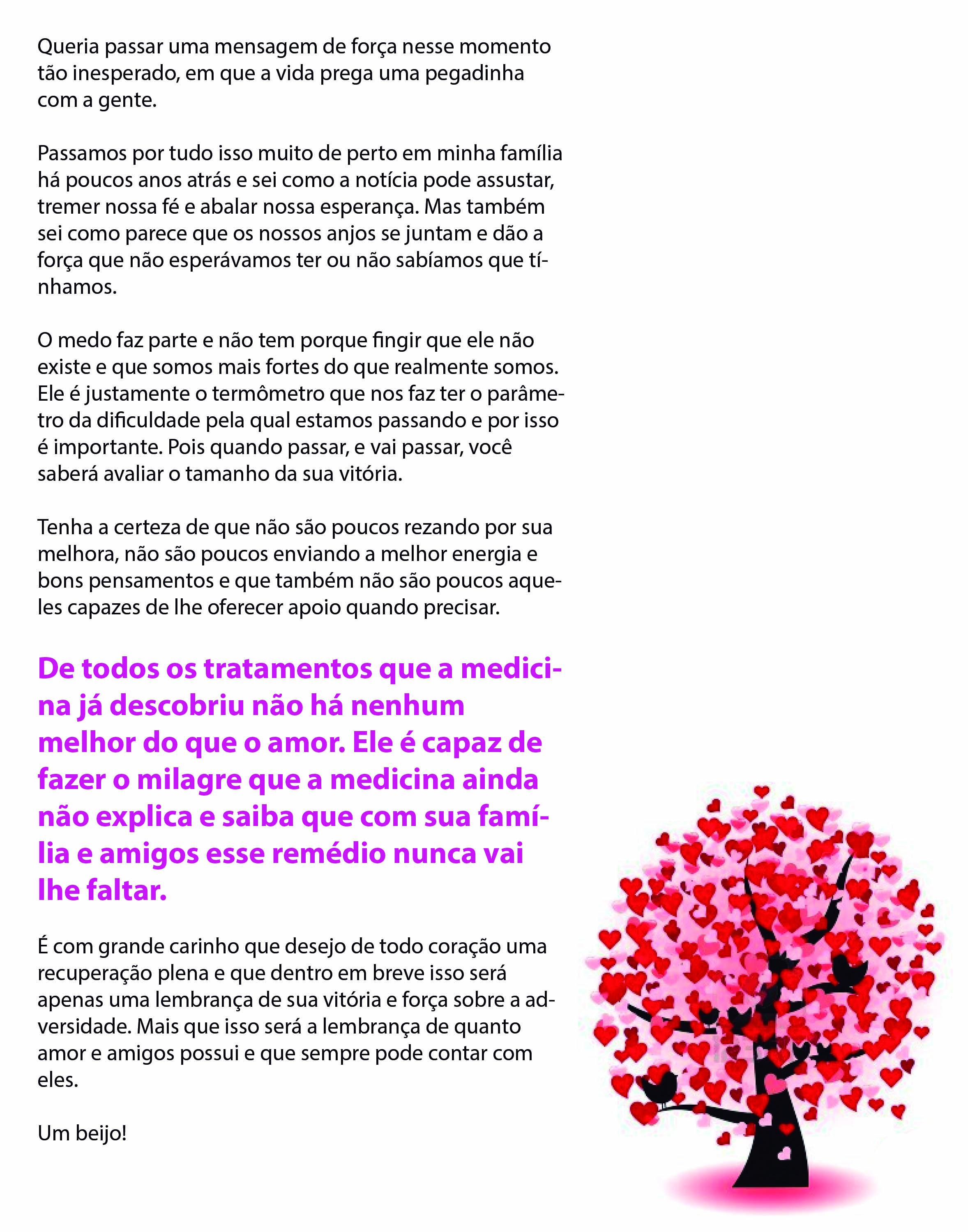 Famosos câncer de mama | Roanytta AW73